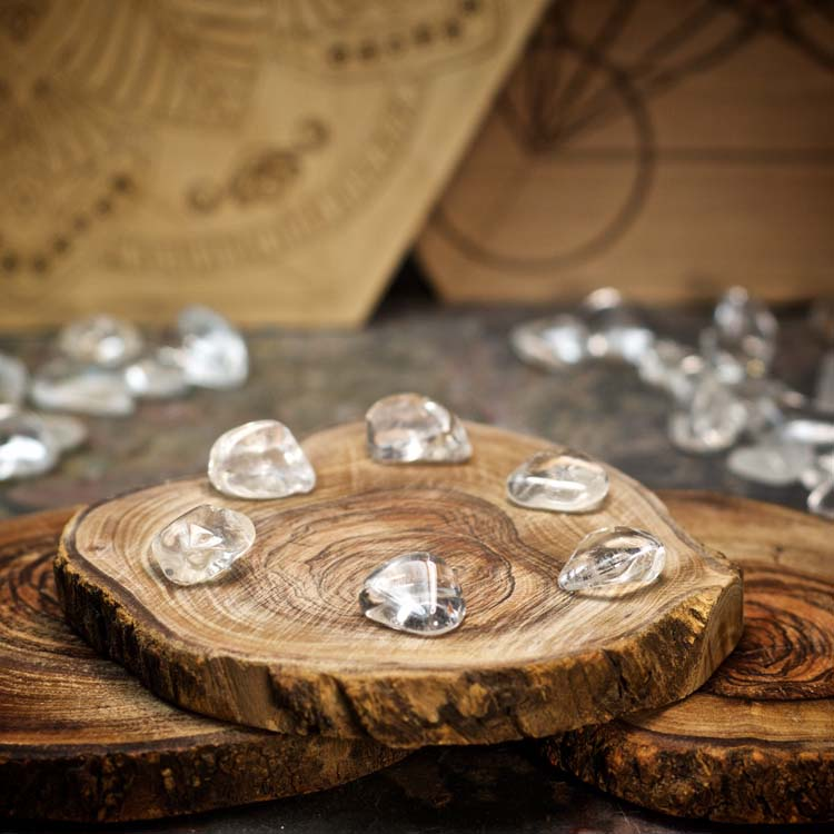 Clear Quartz Crystals for Grids from Healing Stones for You