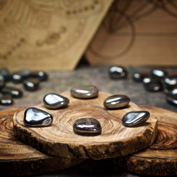 Hematite Crystals for Grids from Healing Stones for You