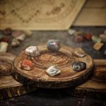 Earth Moonstone Crystals for Grids from Healing Stones for You