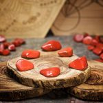 Red Jasper Crystals for Grids from Healing Stones for You
