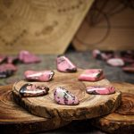 Rhodonite Crystals for Grids from Healing Stones for You