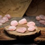 Rose Quartz Crystals for Grids from Healing Stones for You