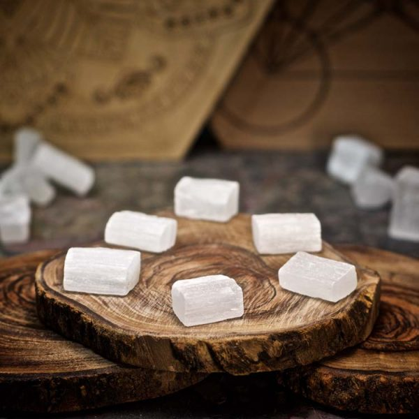 Selenite Crystals for Grids from Healing Stones for You