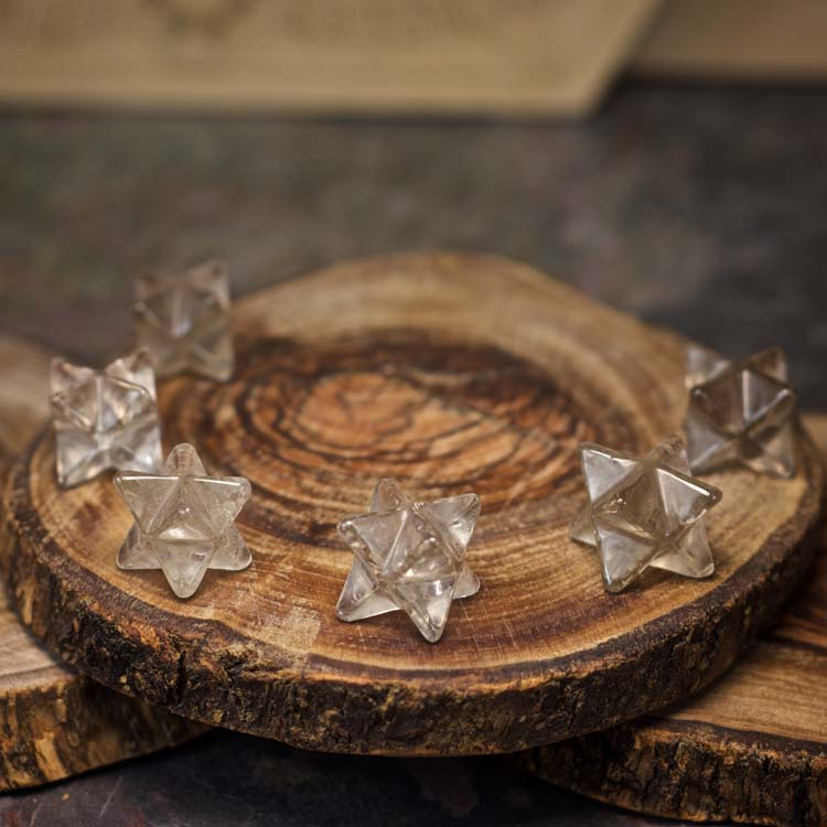 Smoky Quartz Merkaba Crystals for Grids from Healing Stones for You