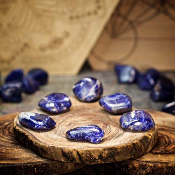 Sodalite Crystals for Grids from Healing Stones for You