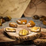 Gold Tiger Eye Crystals for Grids from Healing Stones for You