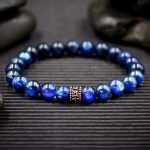 Blue Kyanite and Sterling Silver Bracelet by Healing Stones for You