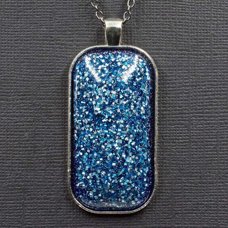 Aluminum Orgonite Pendant by Healing Stones for You