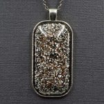 Aluminum and Copper Orgonite® Pendant by Healing Stones for You