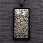 Copper and Aluminum Orgonite® Pendant by Healing Stones for You