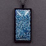 Quartz Crystal and Aluminum Orgonite® Pendant by Healing Stones for You