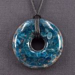 Apatite Orgonite® Pendant by Healing Stones for You
