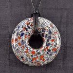 Sodalite and Red Jasper Orgonite® Pendant by Healing Stones for You