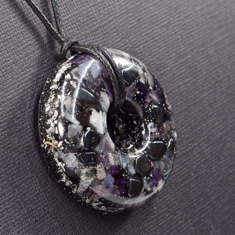 Safe Travels Orgonite® Pendant by Healing Stones for You