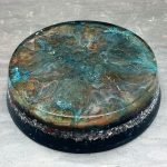 Red Jasper Orgonite® Energy Charging Plate by Healing Stones for You