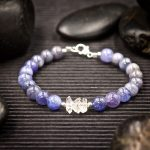 Tanzanite and Herkimer Diamond Bracelet by Healing Stones for You