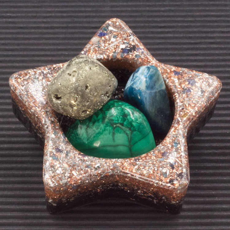 Orgonite Star Charging Bowl by Healing Stones for You