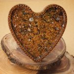 Orgonite Heart Charging Dish by Healing Stones for You