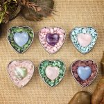 Love Crystals in Tin Heart Box by Healing Stones for You