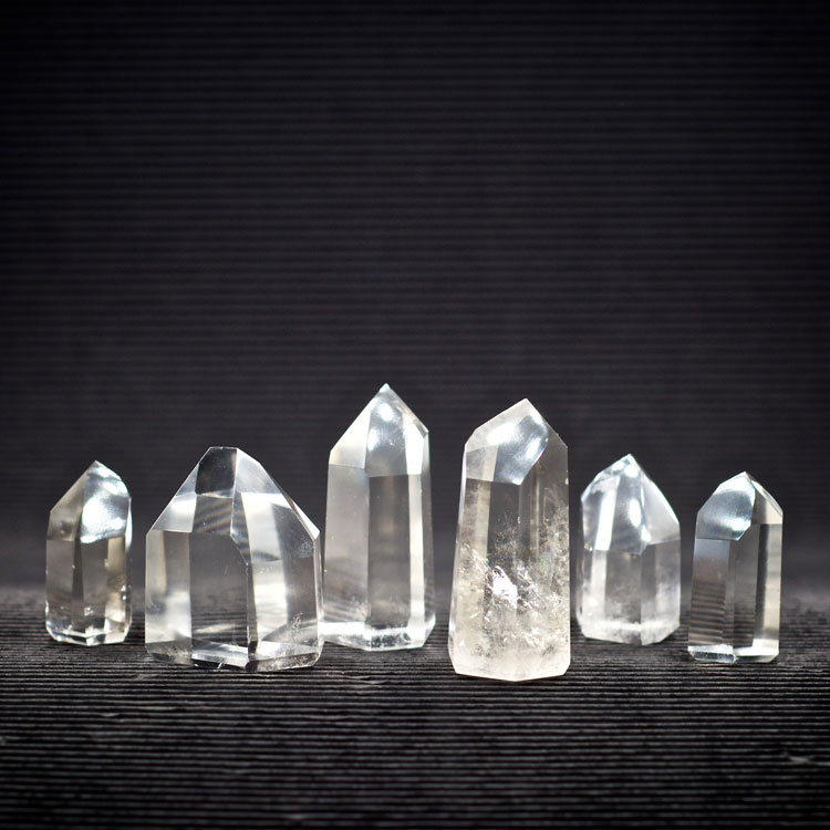 Clear Quartz Crystal Standing Points at Healing Stones for You