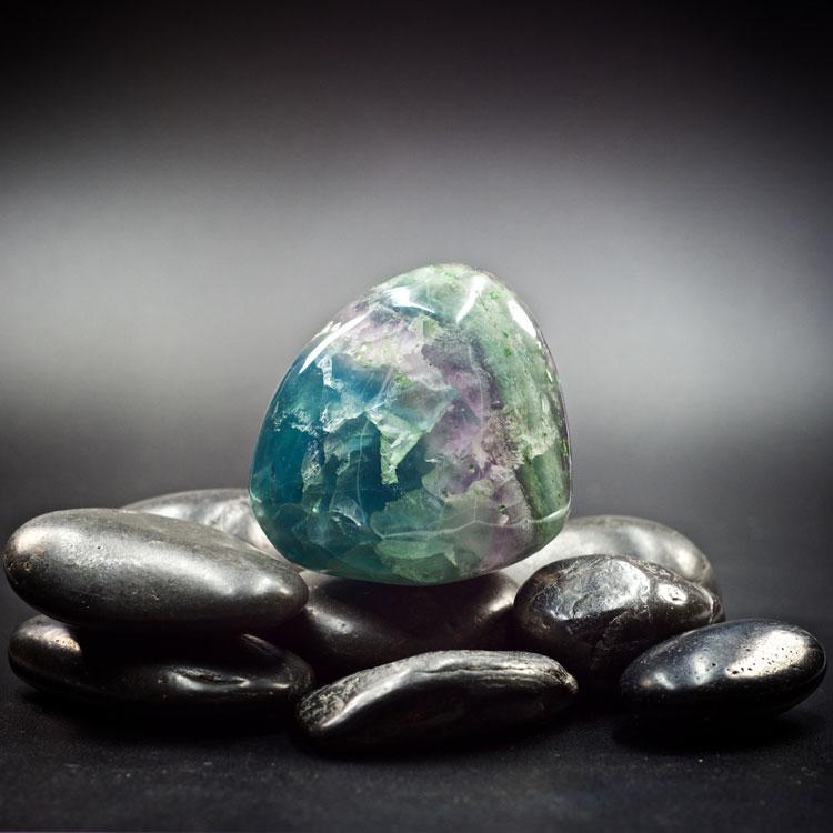 Fluorite Polished Freeform Display Crystals