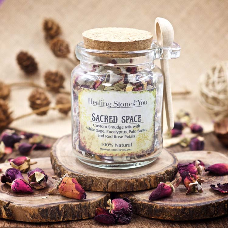 Sacred Space Custom Smudge Mix by Healing Stones for You