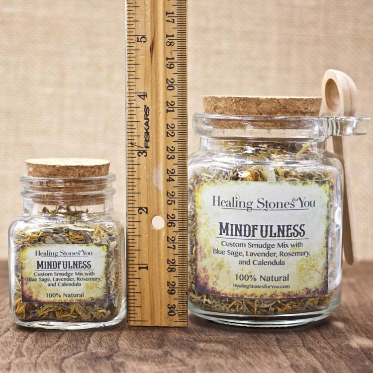 Mindfulness Custom Smudge Mix by Healing Stones for You