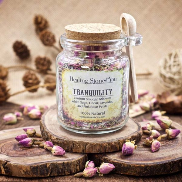 Tranquility Custom Smudge Mix by Healing Stones for You
