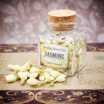 Jasmine Flowers Mini Herbal Apothecary Jar