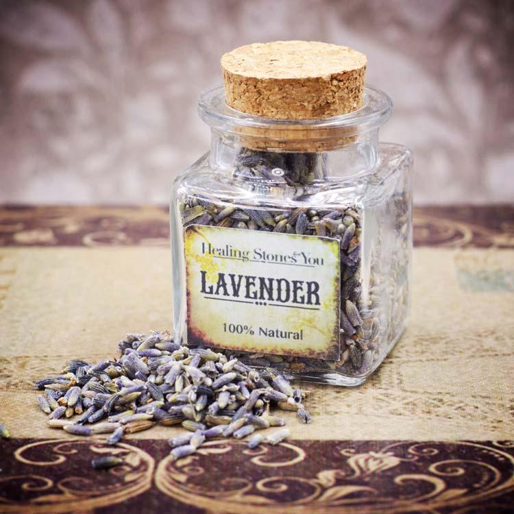 Lavender Ultra Flowers Mini Herbal Apothecary Jar