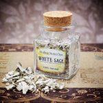 California White Sage Mini Herbal Apothecary Jar