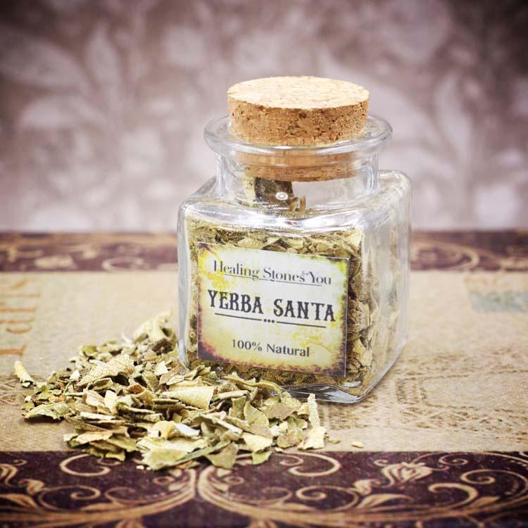 Yerba Santa Mini Herbal Apothecary Jar
