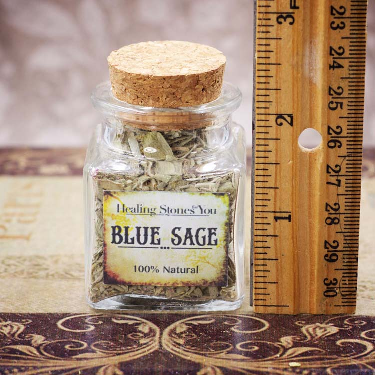 Mini Herbal Apothecary Jars by Healing Stones for You