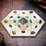 Confidence Boost Mini Crystal Grid Set by Healing Stones for You