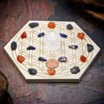 Home Protection Mini Crystal Grid Set by Healing Stones for You