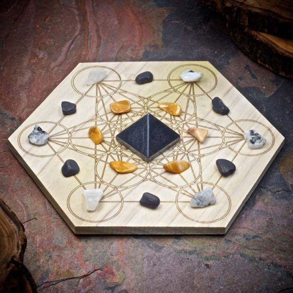 Safe Travels Mini Crystal Grid Set by Healing Stones for You