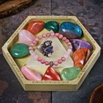 Selenite Triangle Crystal Charging Tray by Healing Stones for You