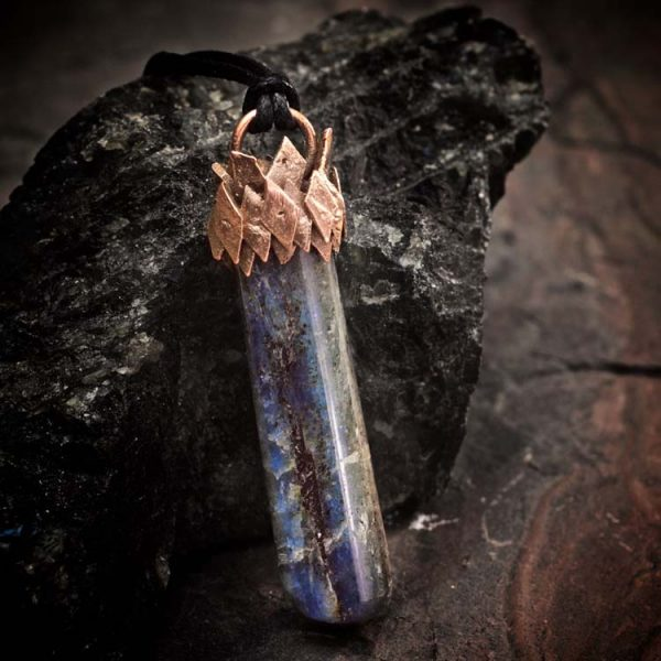 Blue Kyanite Talisman Pendant A by Healing Stones for You