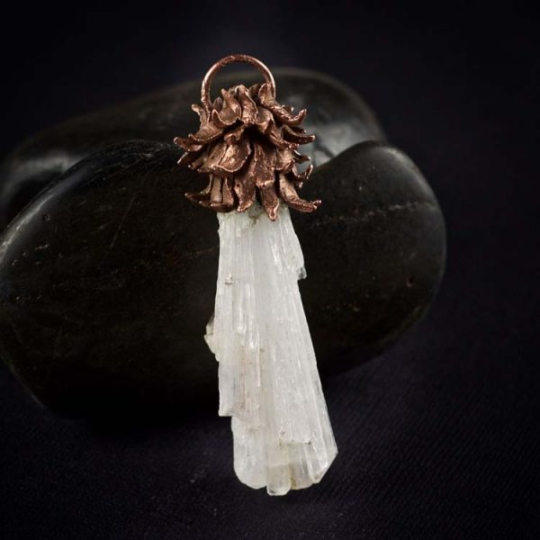 Scolecite Talisman Pendant by Healing Stones for You