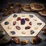 Rekindle Passion Large Crystal Grid Set by Healing Stones for You