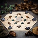 Bring the Magic Large Crystal Grid Set by Healing Stones for You