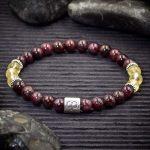 Aries Zodiac Bracelet by Healing Stones for You