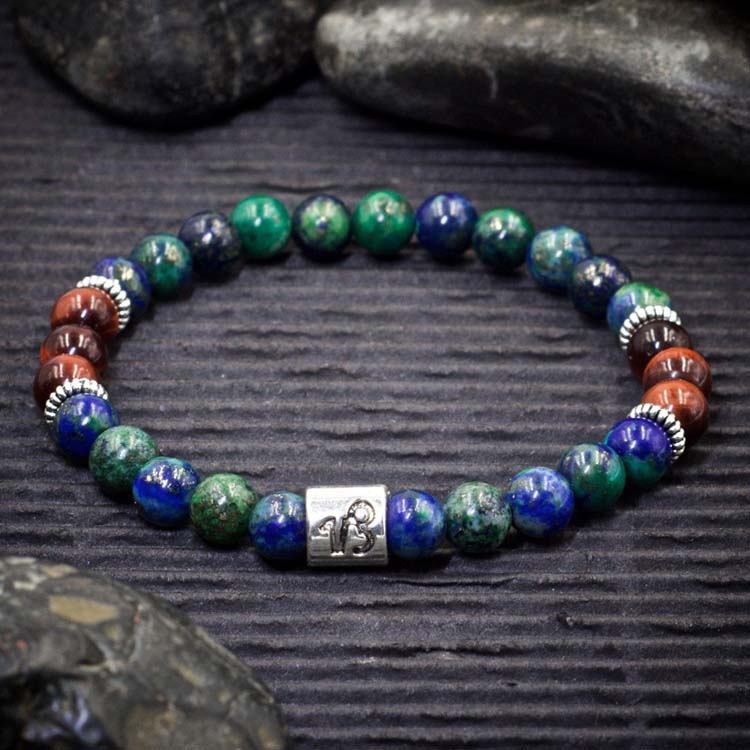 Capricorn Zodiac Bracelet by Healing Stones for You