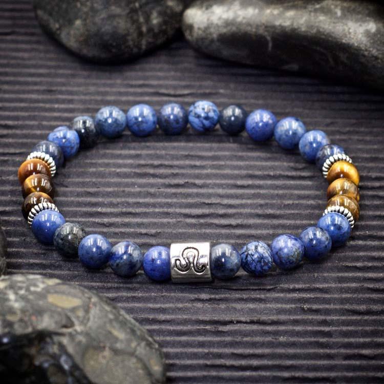 Leo Zodiac Bracelet by Healing Stones for You