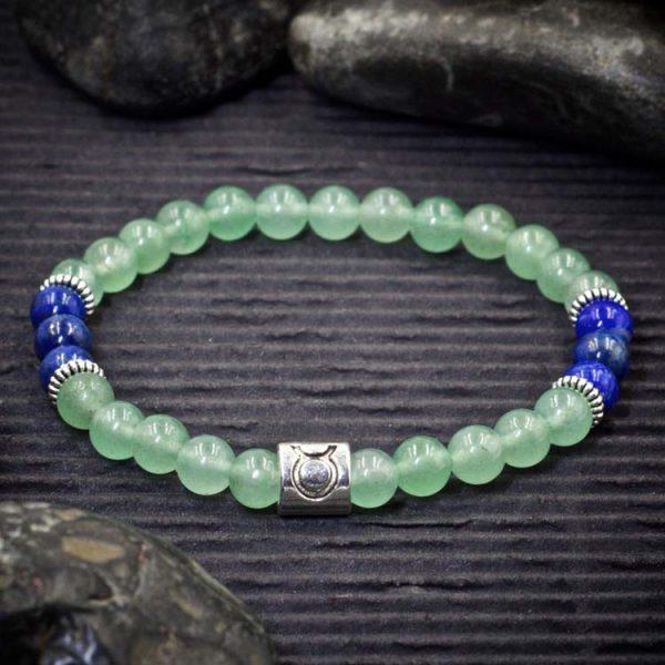 Taurus Zodiac Bracelet by Healing Stones for You