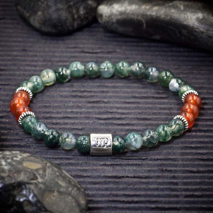 Virgo Zodiac Bracelet by Healing Stones for You