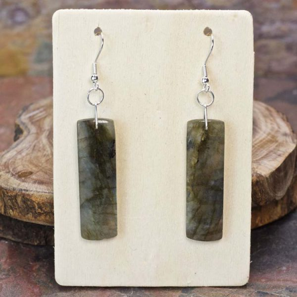 Labradorite Dangle Earrings from Healing Stones for You