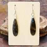 Labradorite Dangle Earrings from Healing Stones for You