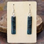 Apatite Dangle Earrings from Healing Stones for You