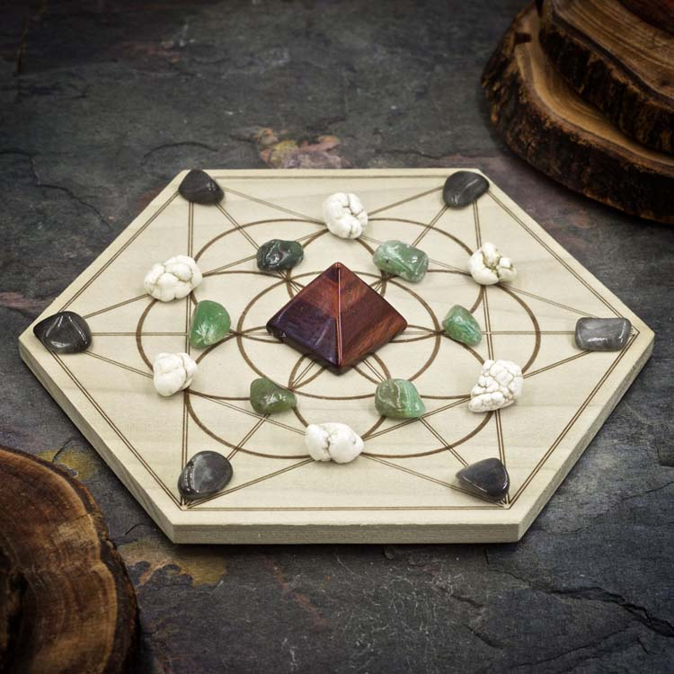 Boost Your Metabolism Mini Crystal Grid Set